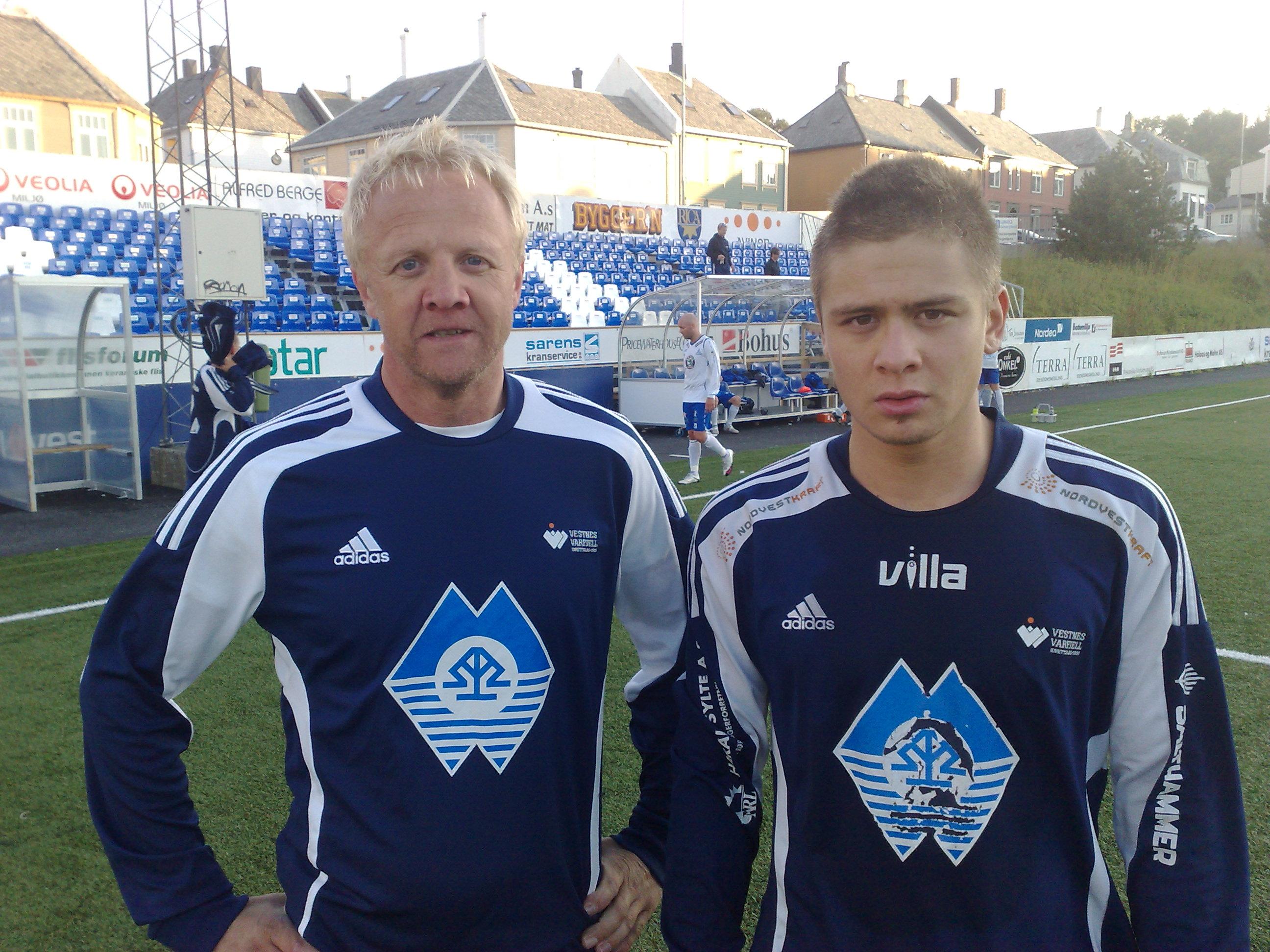 Cato og Tommy Andreassen