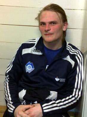 2 mål: Elling Olafsen etter kampen, (Foto: Asbjørn Vik)