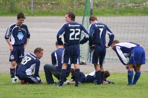 Gry-Varfjell 2006 Nakken skadet.
